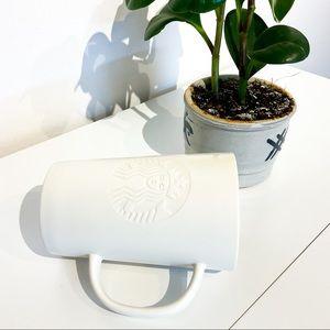 STARBUCKS White Ceramic Coffee Mug